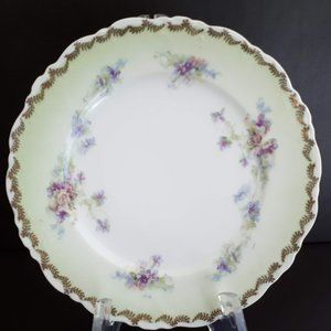 "Limoges ELYSEES floral fine bone china 6 "" Plate"